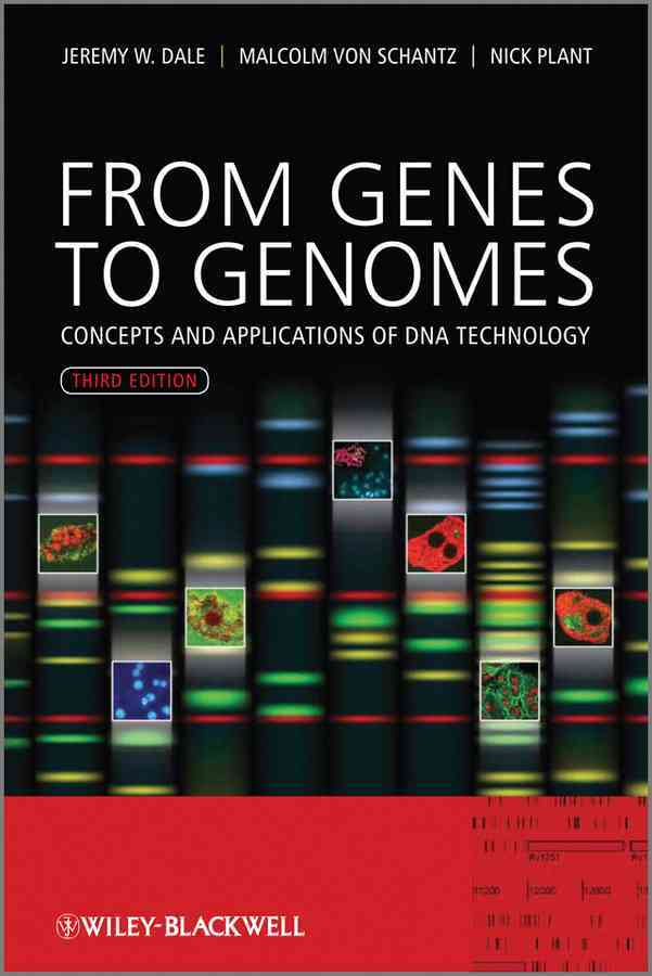 From Genes to Genomes By Dale, Jeremy W./ Von Schantz, Malcolm/ Plant, Nicholas